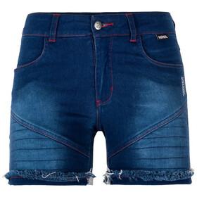 Nihil Bien Zen Shorts Women Blue Denim